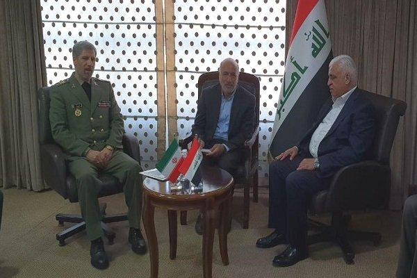 """امير حاتمي:  نفتخر بوقوف ايران إلى جانب العراق وشعبه في مكافحة تنظيم """"داعش"""" الإرهابي"""