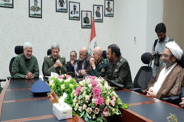 Iranian defense min. meets with PMU's chief