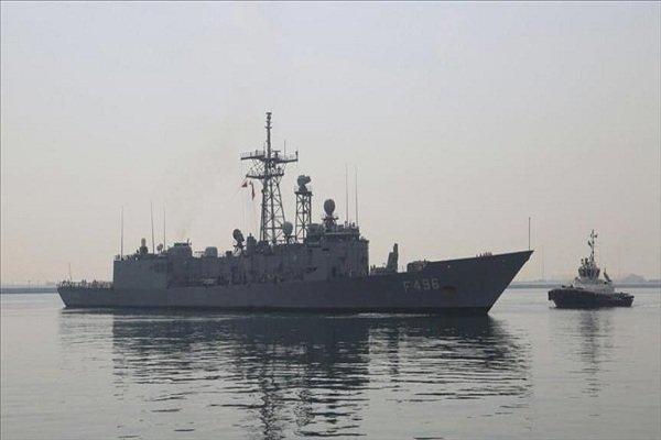 رزمایش مشترک نیروی دریایی قطر و انگلیس