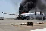 وہابی دہشت گردوں کا لیبیا کے اصلی ایئر پورٹ پر حملہ