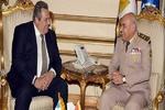 قاہرہ میں مصر اور یونان کے وزراء دفاع کی ملاقات