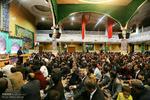حسینیہ اعظم زنجان میں شعبان المعظم کی اعیاد کی مناسبت سے جشن