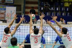 دیدار تیم های والیبال نشسته ایران و روسیه