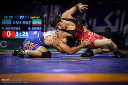 رقابتهای انتخابی تیم ملی کشتیآزاد