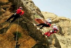 یک نفر بر اثر سقوط از کوه «طاق بستان» جان باخت