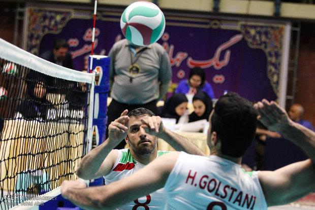 قهرمانی والیبالیست قمی در نخستین دوره لیگ جهانی والیبال نشسته