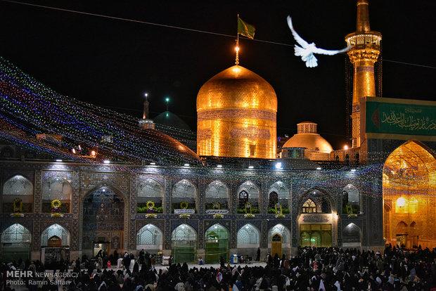 فلم/ مشہد مقدس میں محرم الحرام کی ساتویں شب میں عزاداری