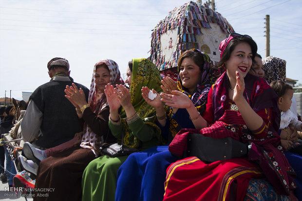 العرس التركماني في ايران