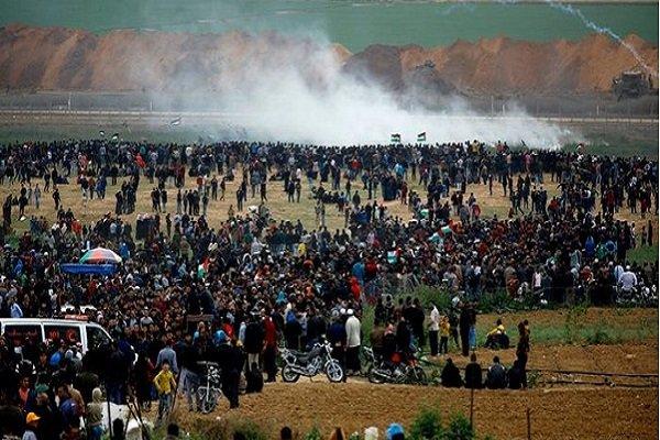 شهيدان فلسطينيان وعشرات الجرحى برصاص الاحتلال في جمعة الشهداء والاسرى