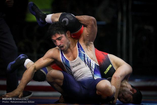 منافسات التأهل للدخول الى المنتخب الوطني للمصارعة الحرة