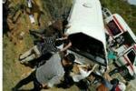 علت حادثه واژگونی مینی بوس دانشجویان دامغان اعلام شد