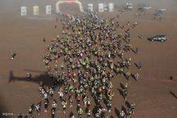 مراکش میں ریت میراتھن مقابلہ