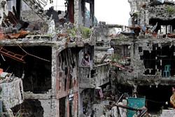 فلپائن کے شہر ماراوی  کو وہابی دہشت گردوں نے بڑے پیمانے پر نقصان پہنچایا
