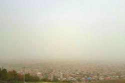 هوای ۸ شهرستان لرستان همچنان آلوده است