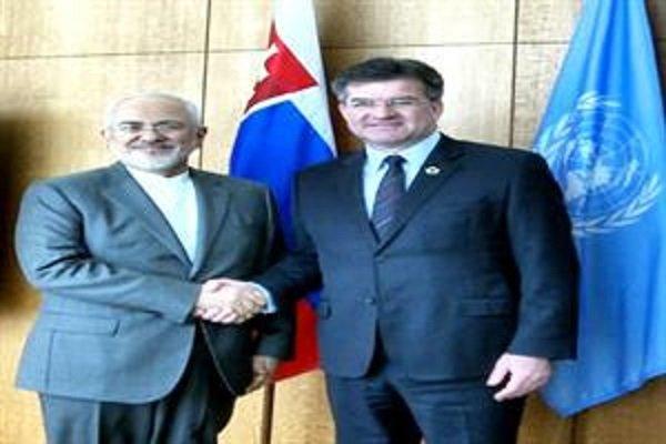 Iran FM, UNGA president meet in New York