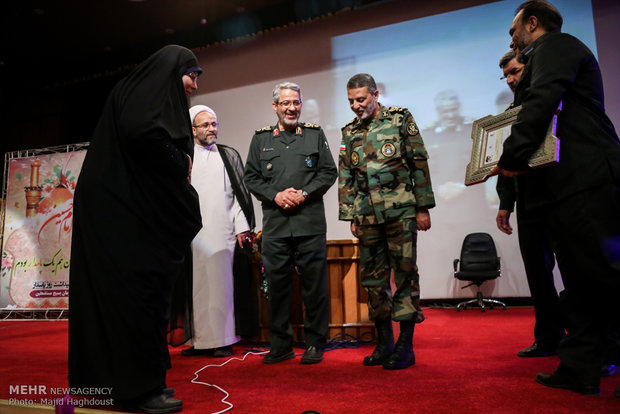 مؤتمر يوم الحرس الثوري وتكريم ذكرى المدافعين عن الحرم