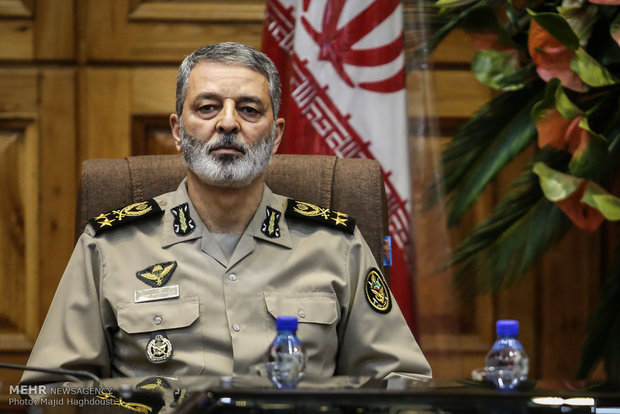 Iranian armed forces 'ready', 'trained' to counter various plots: Army cmdr.