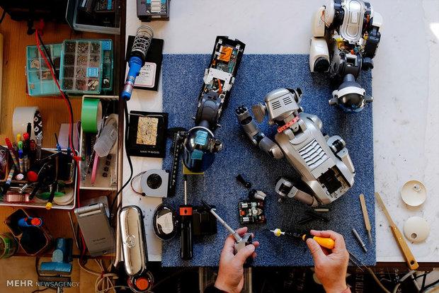 نقش ربات ها در مراقبت از سالمندان ژاپنی