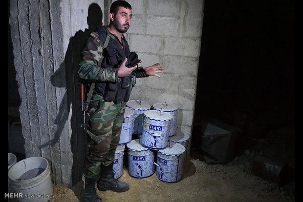 کشف آزمایشگاه تولید سلاح شیمیایی در سوریه