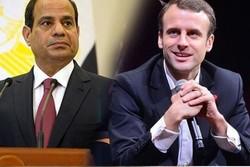 شام کے بارے میں السیسی اور میکرون کے درمیان گفتگو