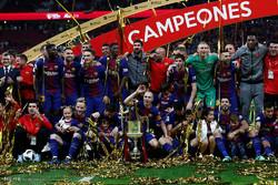 دیدار تیم های فوتبال سویا و بارسلونا