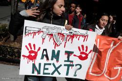 تظاهرات دانش آموزان آمریکایی