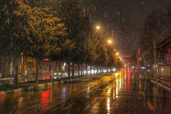 بارش برف و باران شدید در ارومیه/ بارشها تا دوشنبه ادامه دارد