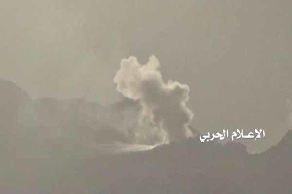 سقوط یک فروند هلیکوپتر نظامی سعودی در یمن