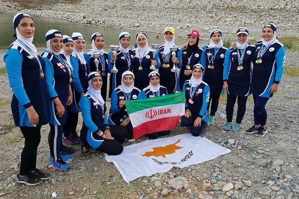 قهرمانی نماینده ایران با کسب چهار مدال طلا