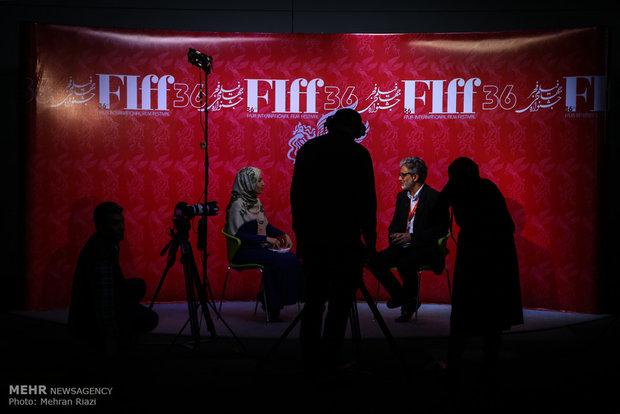 Uluslararası Fecr Film Festivali'nin 4. gününden kareler