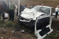 حادثه رانندگی در اردبیل با یک فوتی و ۴ مصدوم/حال مصدومان خوب است
