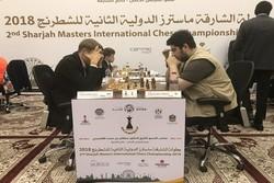 پیروزی مقصودلو در دور پنجم مسابقات شطرنج سوئیس