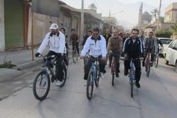 مسابقه دوچرخه سواری جایزه بزرگ در ارومیه برگزار می شود