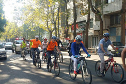 مسابقه دوچرخه سواری آذربایجان غربی نفرات برتر خود را شناخت