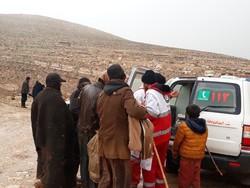 امدادرسانی به ۲۰۰ حادثه دیده در اردبیل