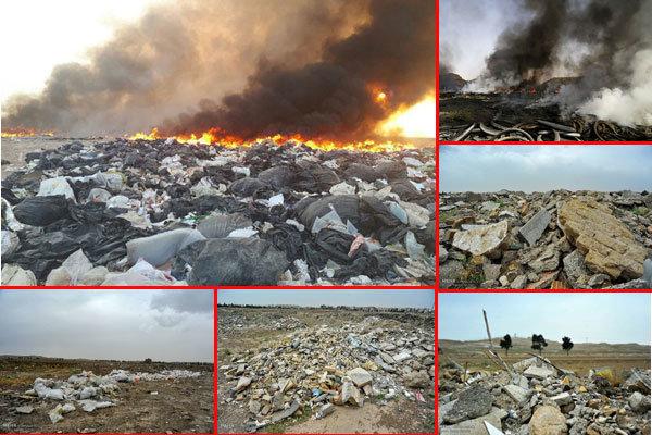 وضعیت دپوی زباله در جویبار بدتر شده است