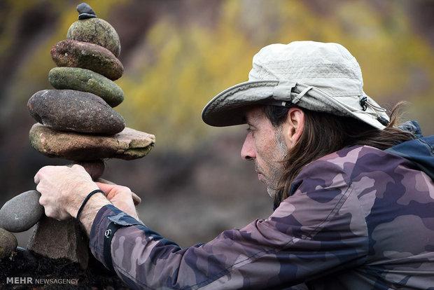 مسابقه چیدن سنگ ها در اسکاتلند