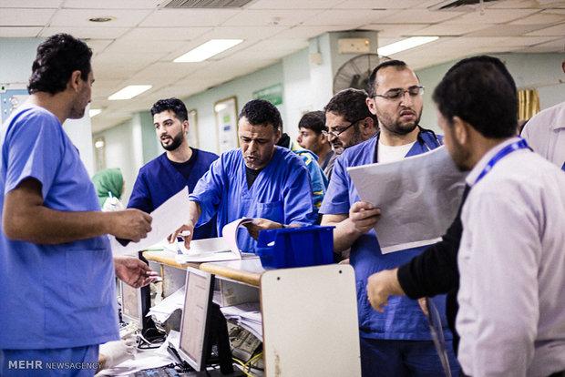 ادامه فعالیت بیمارستان های غزه با حداقل امکانات