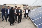 افتتاح دو نیروگاه خورشیدی کوچک مقیاس در منطقه ۷ شهرداری تهران