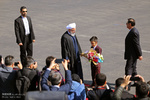 Ruhani'nin Tebriz ziyaretinden kareler