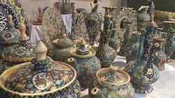 Iranian handicrafts on show at Florence fair