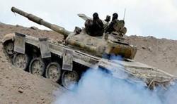 Syrian Army destroys four terrorist positions in Hama