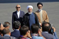 سفر حسن روحانی رئیس جمهور به استان آذربایجان شرقی