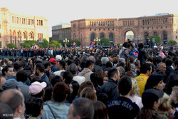 آرمینیا میں عوامی احتجاج