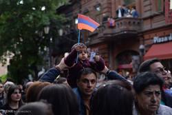 راهپیمائی های اعتراض آمیز در ارمنستان