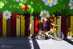همایش دوچرخه سواری خانوادگی در گرگان