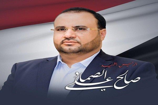 """حضور غفير للشعب اليمني في مراسم تشييع جثمان """"صالح الصماد"""""""