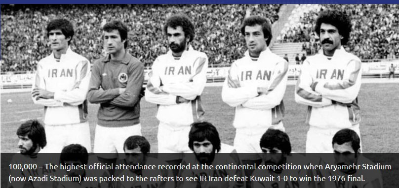 2766740 - گزارش AFC از رکوردهای ایران در جام ملتها/ دایی همچنان پیشتاز است