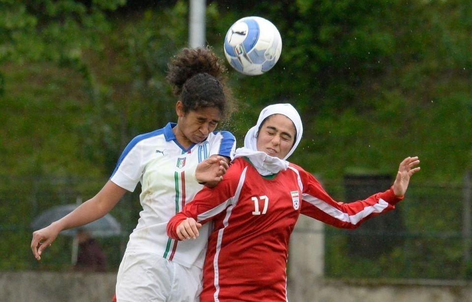 Iranian Under16 Girls Football Team