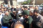 حضور فرمانده سپاه درمناطق زلزله زده سرپل ذهاب/افتتاح مساکن احداثی